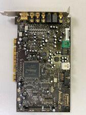 Creative Sound Blaster Audigy 2 Zs PCI SB0350 Sound Card EX+++