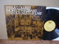 SHEILA COLLIER'S SMOKY CITY JAZZBAND Private '80 Dutch LP UK JAZZ M- Signed!