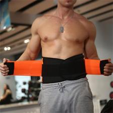 Men Women Corset Tummy Waist Cincher Sweat Trainer Hot Body Shaper Slim Belt NEW