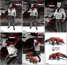 God Complex Inari 1:6 12 inch Action Figure MIB Foxbox Image Comics Rare 2 Fox