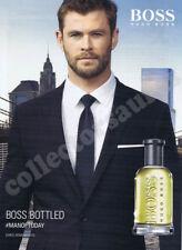 Chris Hemsworth HUGO BOSS perfume advert - A4 size high quality print ONLY