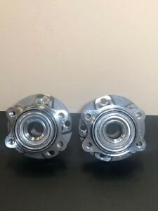 Front Wheel Hub Bearing Assembly For 2002-2008 AUDI A4 A4-QUATTRO  PAIR