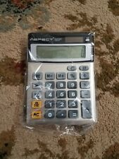 Desktop Calculator Dual Battery Solar 12 Digit Office Business Standard Function