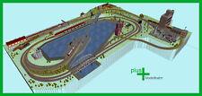 Piko H0 A-Gleis Gleisplan Hafen für Anlage und Gleisset, HO, Set 3 x 2,5 m