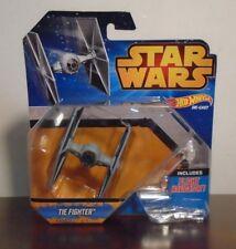 Star Wars Hot Wheels Die-Cast TIE Fighter Figure with Flight Navigator 2014 NEW