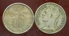CONGO   BELGE   1 franc 1922  (  belges )
