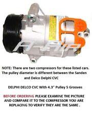 Chevrolet Cavalier Cobalt HHR G5 G6  Sunfire Ion OEM DELPHI CVC AC Compressor