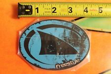 FREESTYLE Watches Performance Timing Shark Fin Surfing Skateboarding STICKER