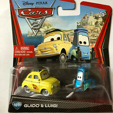 Disney Cars 2 Guido & Luigi  #10/11 (NIP, but See collector Note)