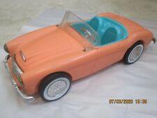 Vintage Mattel Barbie Convertible Irwin Austin Healey Car - Windsheild Attached