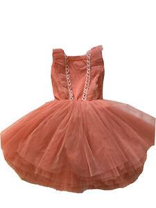 Rock Your Baby Kid Tutu Dress Size 6 (best Fit 4-6) Girls