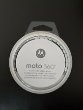 MIB Motorola Moto 360 Stainless Steel Watch Band - 23mm  [Band Only]