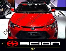 1 Scion Windshield Decal Sticker fr-s tc xb Large 38''x4''