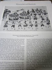 Nürnberg Archiv N 4014 Schwerttanz der Nürnberger Messerer 1600