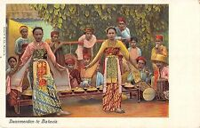 Dansmeiden te Batavia Antique Ceremony? Postcard P2813