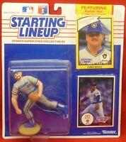 1990  Chris Bosio - Starting Lineup - SLU - Sports Figurine - Millwakee Brewers