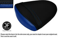STYLE2 BLACK R BLUE VINYL CUSTOM FOR SUZUKI GSXR1000 K7 K8 07-08 REAR SEAT COVER