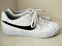 Nike Court Royale AC Sneakers Tennis Shoe Mens 9.5 Black/White BQ4222-103