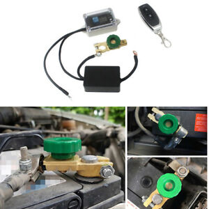 Wireless Racing Car Master Battery Quick Disconnect Cut Off Safety Kill Switch