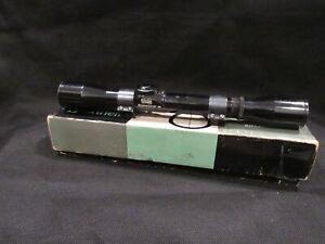 Bushnell Banner ScopeChief 4X Riflescope with Crosshair in Original Box