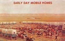 Lincoln Nebraska~State Historical Society Early Mobile Homes: Conestoga~1960s