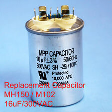 150W Oil filled Capacitor HID MH150 M102 16uF/300VAC ~~UL APPROVED~~