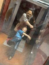 """Pantalla cine de miedo """"Mezco coge el Texas Chainsaw Massacre Leatherface's"""