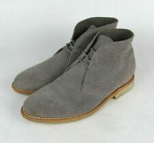 THURSDAY Boot Company Mens US 10.5 Gray Suede Chukka Boots