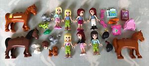 Lego Friends figures Mini Figure bundle lot & 1.5kg Of Pieces For Friends/City