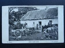 More details for ireland country life an irish farm yard c1912 postcard by w. lawrence