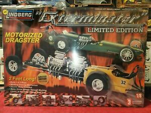 Lindberg 73045: 'Exterminator' 2-In-1 Motorized Dragster 1/8th Scale