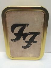 Foo Fighters Rock Band Music Record Sealed Lid Cigarette Tobacco Storage 2oz Tin