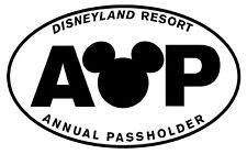 Disneyland Ap Vinyl Stickers NO Background
