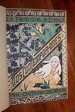1894 Octave Uzanne La Femme à Paris 1/110 Japon Maroquin signé V. Champs EO