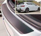 Seat Leon Mk3 - estilo Carbono Parachoques trasero PROTECTOR