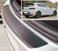 Seat Leon MK3 - Carbon Style rear Bumper Protector