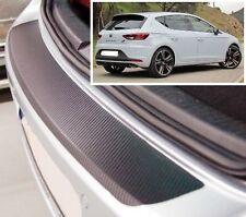 Seat Leon MK3 - Carbon Style rear Bumper Protector