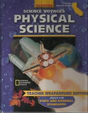 Glencoe Science Voyages Physical Science California Teacher Edition 0078239923