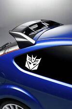 2X TRANSFORMERS DECEPTICON car stickers/decals  window