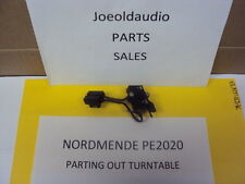 NordMende PE2020 AC 110/220 Switch Parting out Turntable