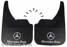 Universal Car Mudflaps Front Rear Mercedes Logo 190 W201 Front Mud Flap Guard