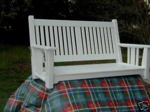 """Mission II  60"""" Porch Swing by  SFK Furniture"""