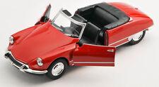 BLITZ VERSAND Citroen DS 19 Cabriolet rot / red Welly Modell Auto 1:34 NEU & OVP