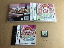 COOKING MAMA WORLD Combo Pack VOLUME 2-NINTENDO DS (testato) UK PAL