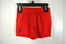 NWOT BABY BOYS TODDLER UNDER ARMOUR RED BASKETBALL SHORTS SZ 9/12M