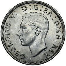 More details for 1940 halfcrown - george vi british silver coin - superb