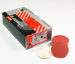 INDASA 50mm Schleifscheiben Klettscheiben Schleifpapier Körnung + Menge wählbar