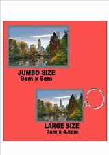 Central Park New York City  Key Ring & Fridge Magnet Set