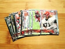 (3) Diff CLEVELAND BROWNS 2015 Topps TEAM SET w/ Chrome + Refractor (20) Cards