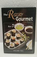 The Raw Gourmet Volume 2 DVD VIDEO MOVIE Nomi Shannon meals out of nuts and seed